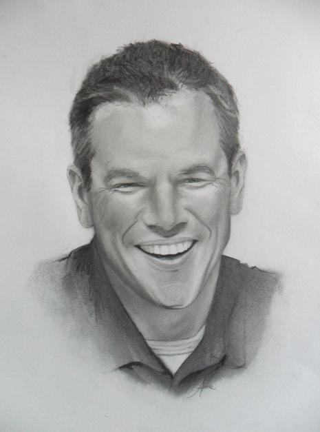 Matt Damon por Ennankh